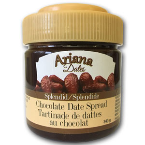 Chocolate Date Cream - 340 grr